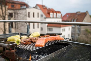 installing a barbecue