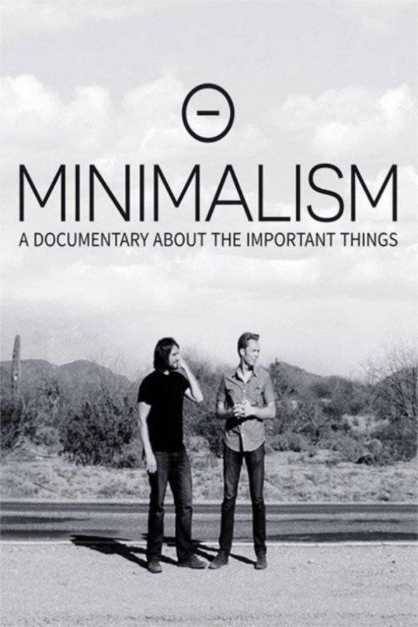 """Poster of the documentary """"Minimalism""""."""